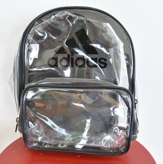 clear adidas backpack