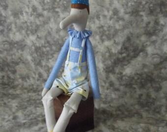 Pinocchio doll, Fairy tale Pinocchio doll, Tilda fairy tale Pinocchio