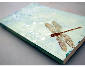 Dragonfly Perfect-Bound Blank Journal