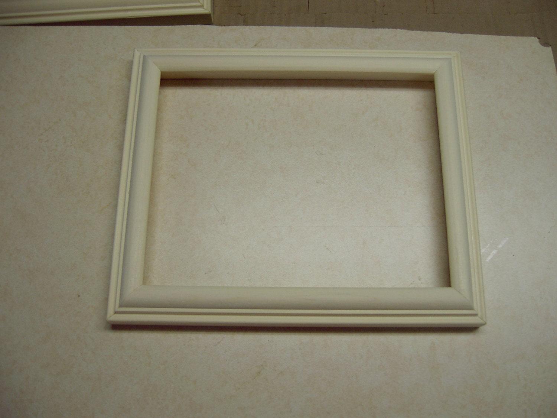 8 x 10 álamo inacabado cuadro marco profundo perfil de ...