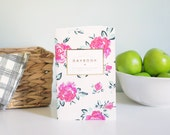 Humbled Hearts Daybook - Gold foil - Prayer Journal - Floral