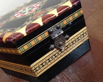 Vintage Decorative Ethnic Jewelry Box Home Decor