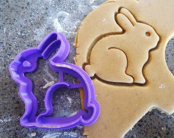 3D Printed Bunny Rabbit Cookie Cutter