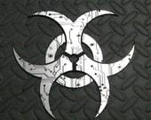 Biohazard Symbol - Computer Circuit Design -