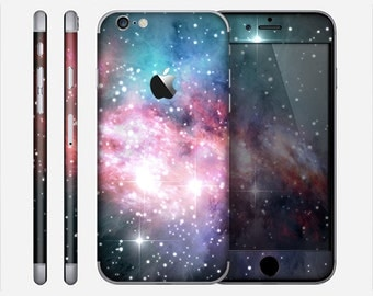 The Colorful Neon Space Nebula Skin for the Apple iPhone 6 or 6 Plus