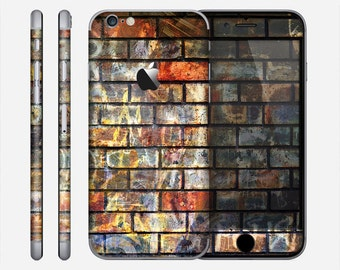 The Neon Graffiti Brick Wall Skin for the Apple iPhone 6 or 6 Plus