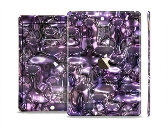 The Purple Mercury Skin Set for the Apple iPad (All Models Available)
