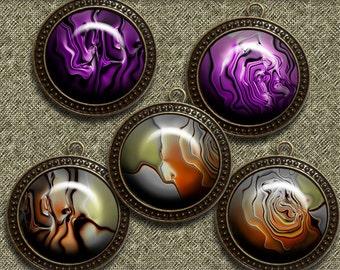 Achat color 2 – Digital Design - 20 Buttons print. 300 DPI