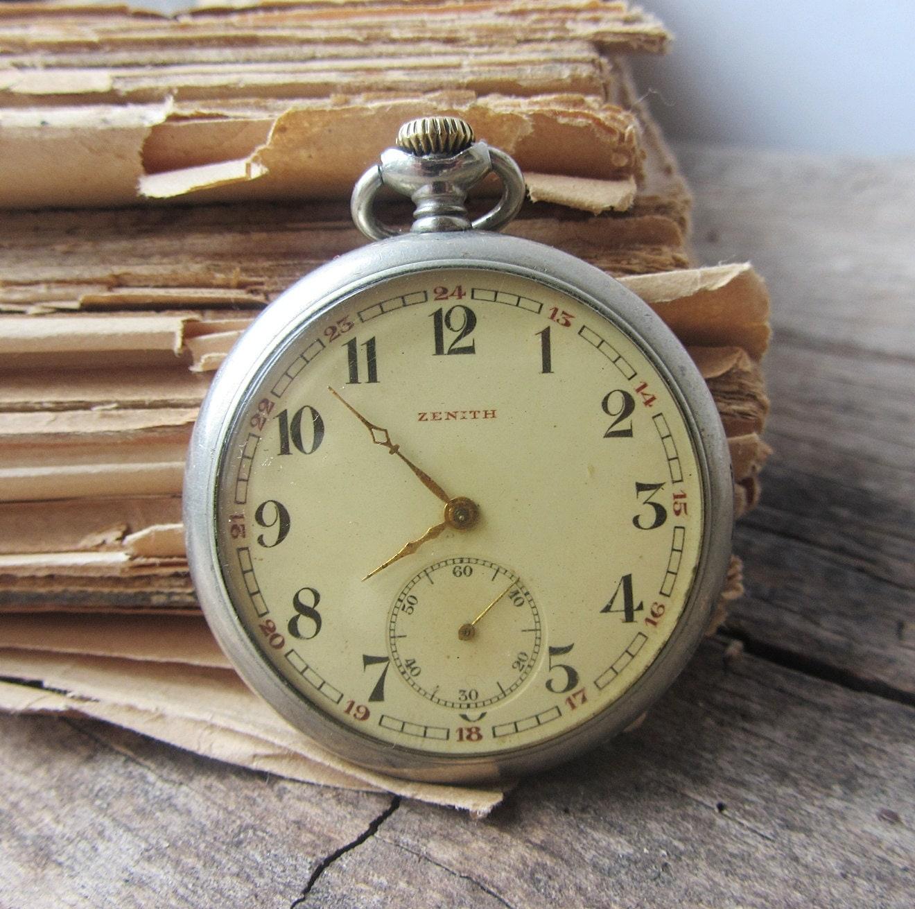 antique1910 swiss made pocket zenithmen s