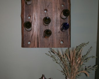 Riddling Wine Rack - Wall Mount