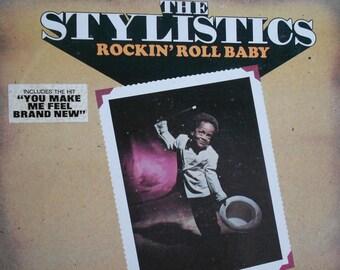 The Stylistics - Rockin' Roll Baby - vinyl record