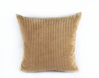 Brown Corduroy Throw Pillow : Items similar to Corduroy Pillow Cases/ Throw Pillow Covers/ Couch Pillow Cases on Etsy