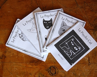 Cat Art Zine, Le Psycho Cat