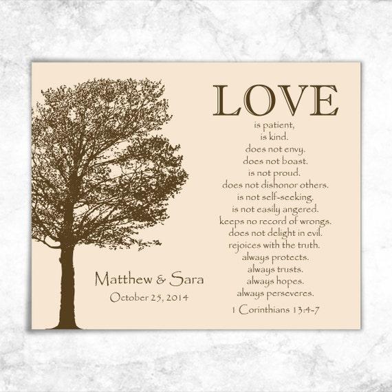 articles similaires lamour est impression corinthiens bible verset print corinthiens 13 print mariage signe sur etsy - Verset Biblique Mariage