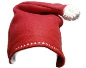 Red Fleece Santa Hat