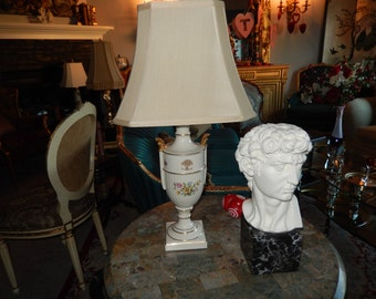 FRENCH PORCELAIN LAMP