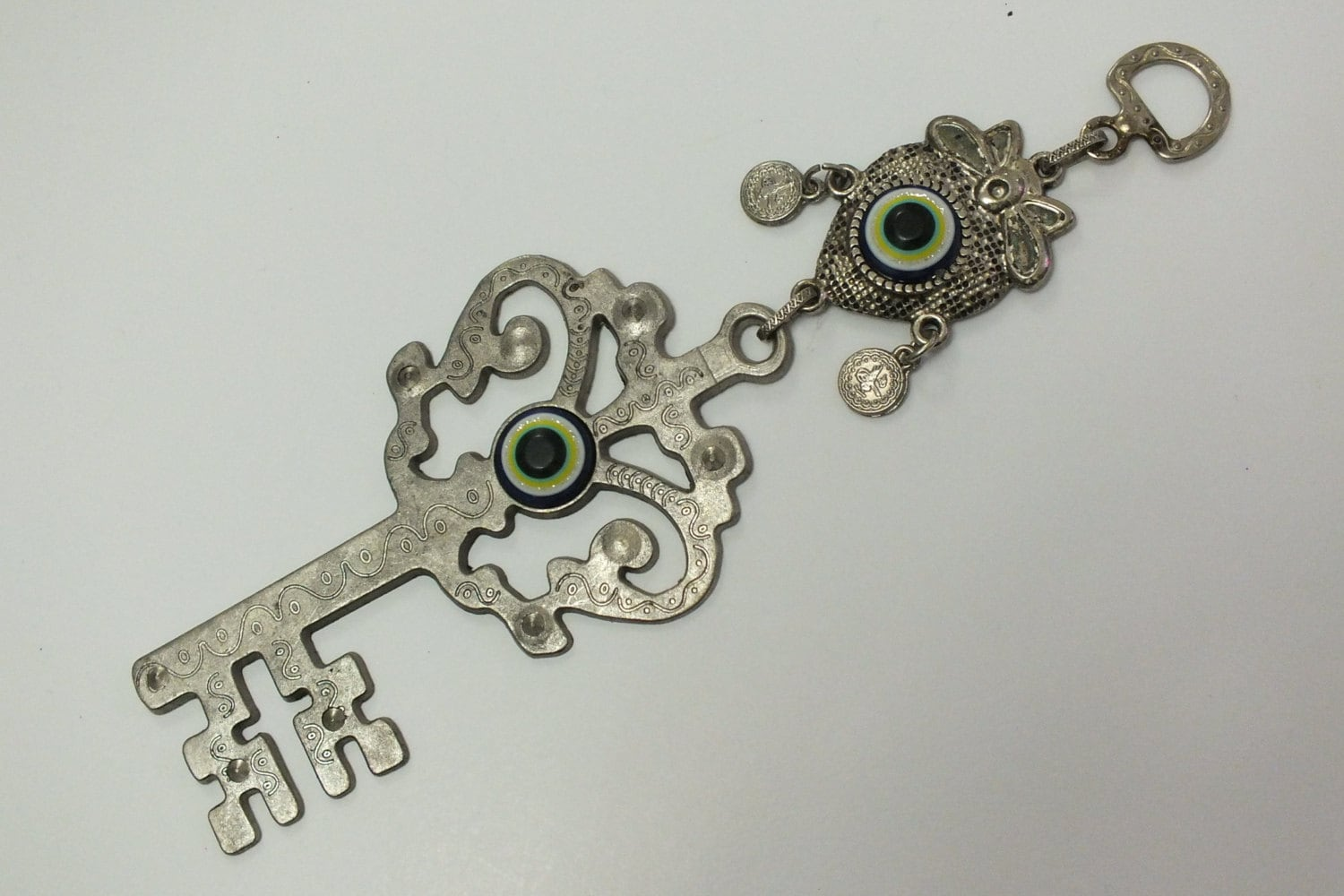 Evil eye wall hangingkey home decor with evil eye lucky evil for Evil eye home decor