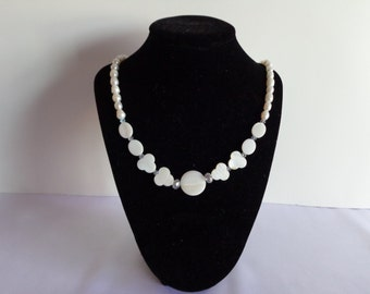 Pearl and Mother of Pearl Necklace