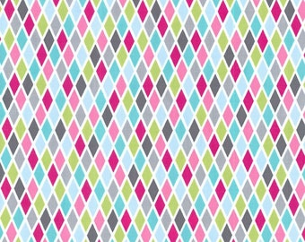 Pink Rhombus, from Michael Miller Fabrics