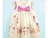 NEW STYLE!! Baby Girl's Party Dress, 1st Birthday Dress, Newborn Dress, Infant Dress, Children At Play Dress