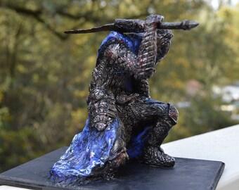 Dark Souls Artorias the Abysswalker 8 inch scale statue
