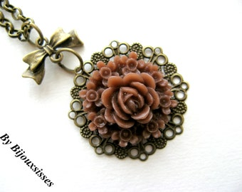 Filigree and more... VN119 - pendant necklace - charm necklace - gift under 15