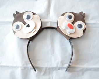 Chip and Dale Disney Ears