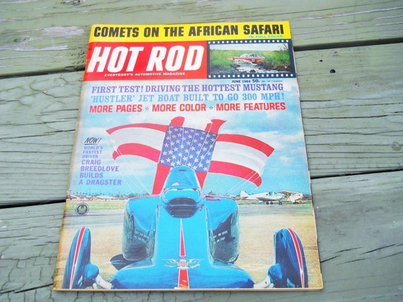 Hot Rod Magazine 1964 - The Complete Year 12 Issues - Great For Restorations