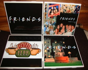 Friends Coasters (set of 4)