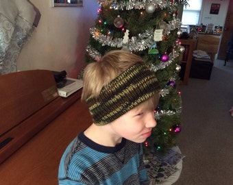 Hand knitted Head band
