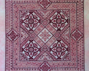 Shades of Rose PDF Chart by Northern Expressions Needlework