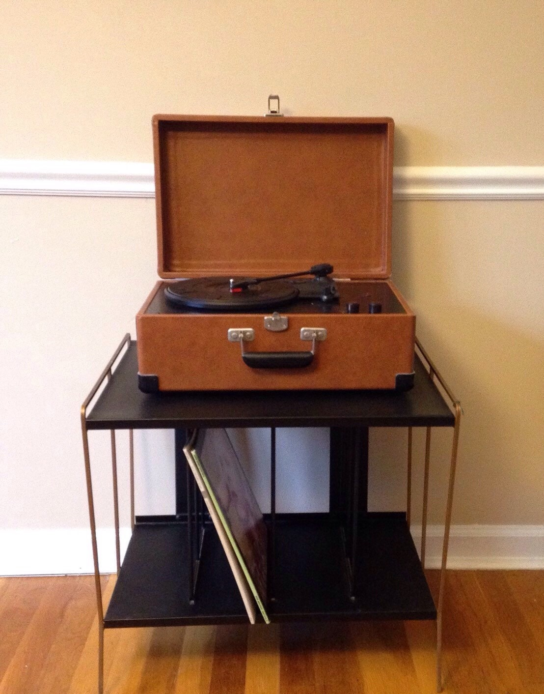 Vintage Record Player Stand Haute Juice