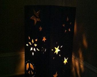 "Outdoor Fire Pit-Celestial Sky-25"""