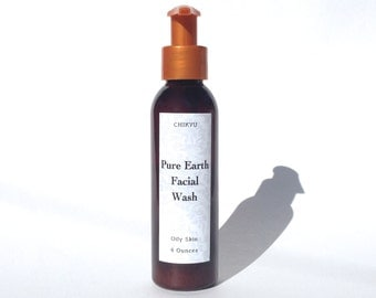 Clay Facial Wash for Oily Skin, Oily Skin Facial Cleanser, Acne Control Face Wash, PURE EARTH Facial Wash