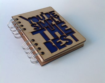 A6 recycled notebook You are the best