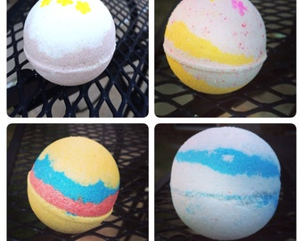 Bath Bomb fizzies 4 for 12.00-Pick your scents! New scents!