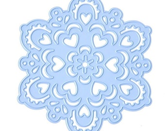"Marianne Designs Creatables Die Snowflake, LR0185, Approx. 3"" ~"