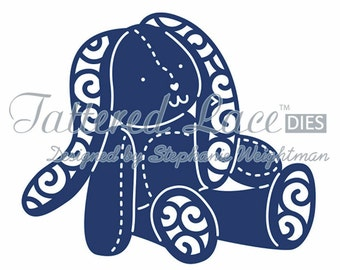 Tattered Lace Dies by Stephanie Weightman ~ Bunny (Baby), TTLD563