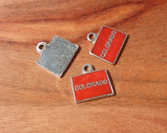 Vintage State of Colorado Charm QTY 1