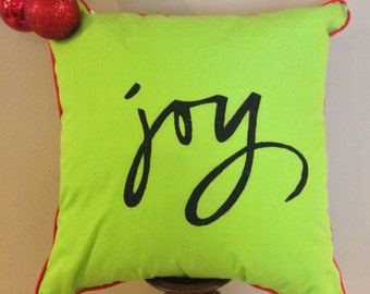 Green Joy Pillow