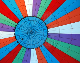 Inside a Hot Air Balloon -- Choose your Size