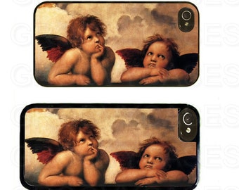 iPhone 4 4s 5 5s 5c SE Case Rubber Angels