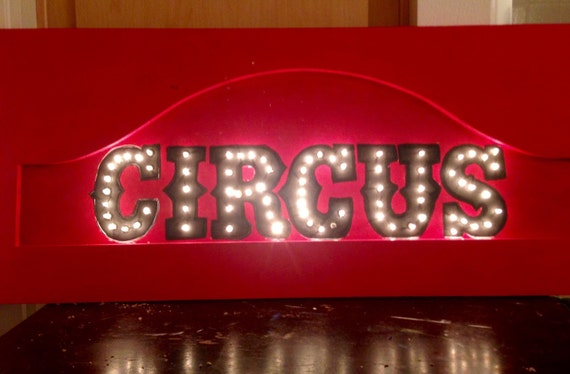 marquee letter marquee light carnival letter by. Black Bedroom Furniture Sets. Home Design Ideas