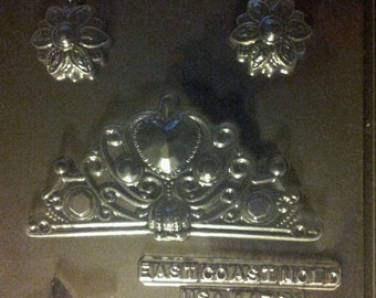 Princess accessories chocolate mold