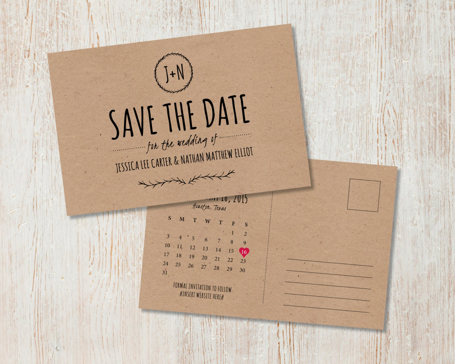 Save the date | Sam Osborne Weddings