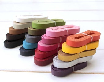 1.2cm * 120cm / 0.5 inch * 44 inch PU Leather Strap, Twenty Colors Available