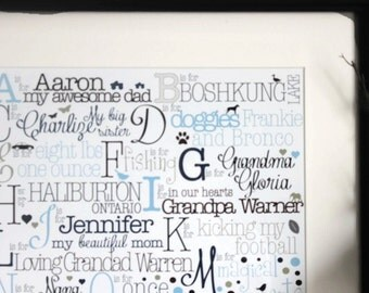Custom nursery print etsy personalized baby gift baby girl gift custom nursery print custom baby gift negle Image collections