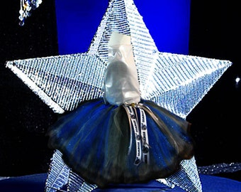 Dallas Cowboys Themed Tutu Skirt