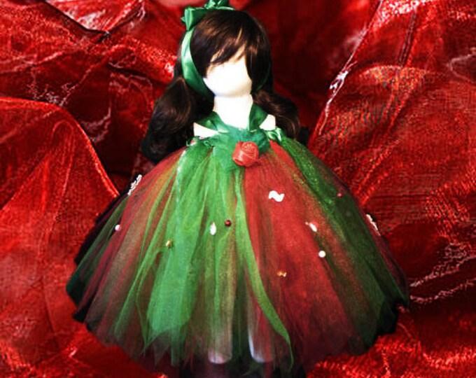 Merry Christmas Tutu Skirt or Dress