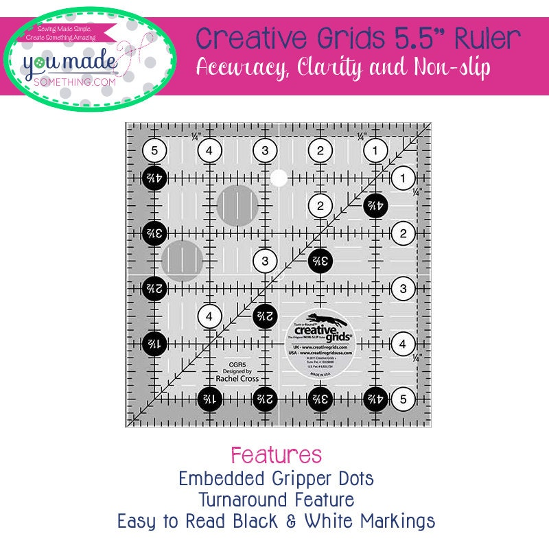 how to use a square up ruler in quilting